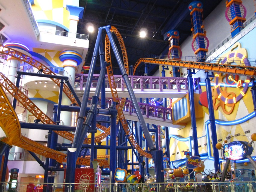 Mall amusement park