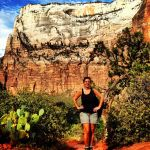 I survived the hike at Zion National Park!