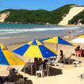 Ponto Negra Beach in Natal, Brazil