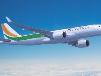 Air Côte d'Ivoire inflight connectivity on new A320s