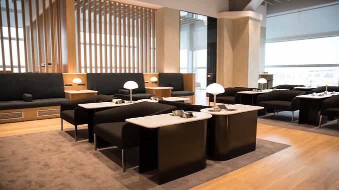 British Airways Lounge - Rome Fiumicino