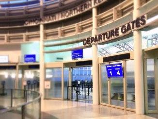Cincinnati airport departures