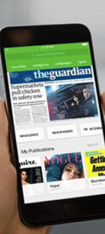 Cathay Pacific passengers can now access thousands of newspapers and magazines