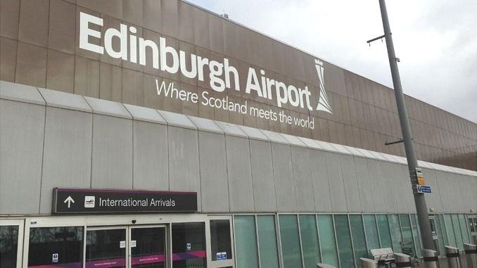 Edinburgh Airport entrance