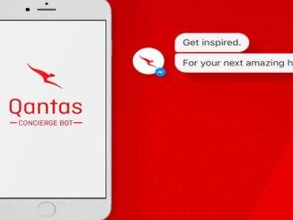 QANTAS launches Facebook Messenger chatbot