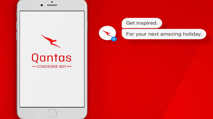 QANTAS launches Facebook Messenger chatbot