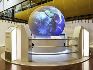 Stockholm Arlanda globe shows direct traffic from airport