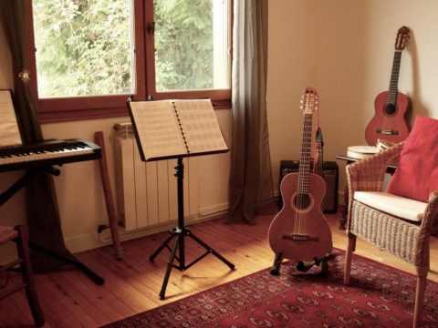 salle de cours de guitare