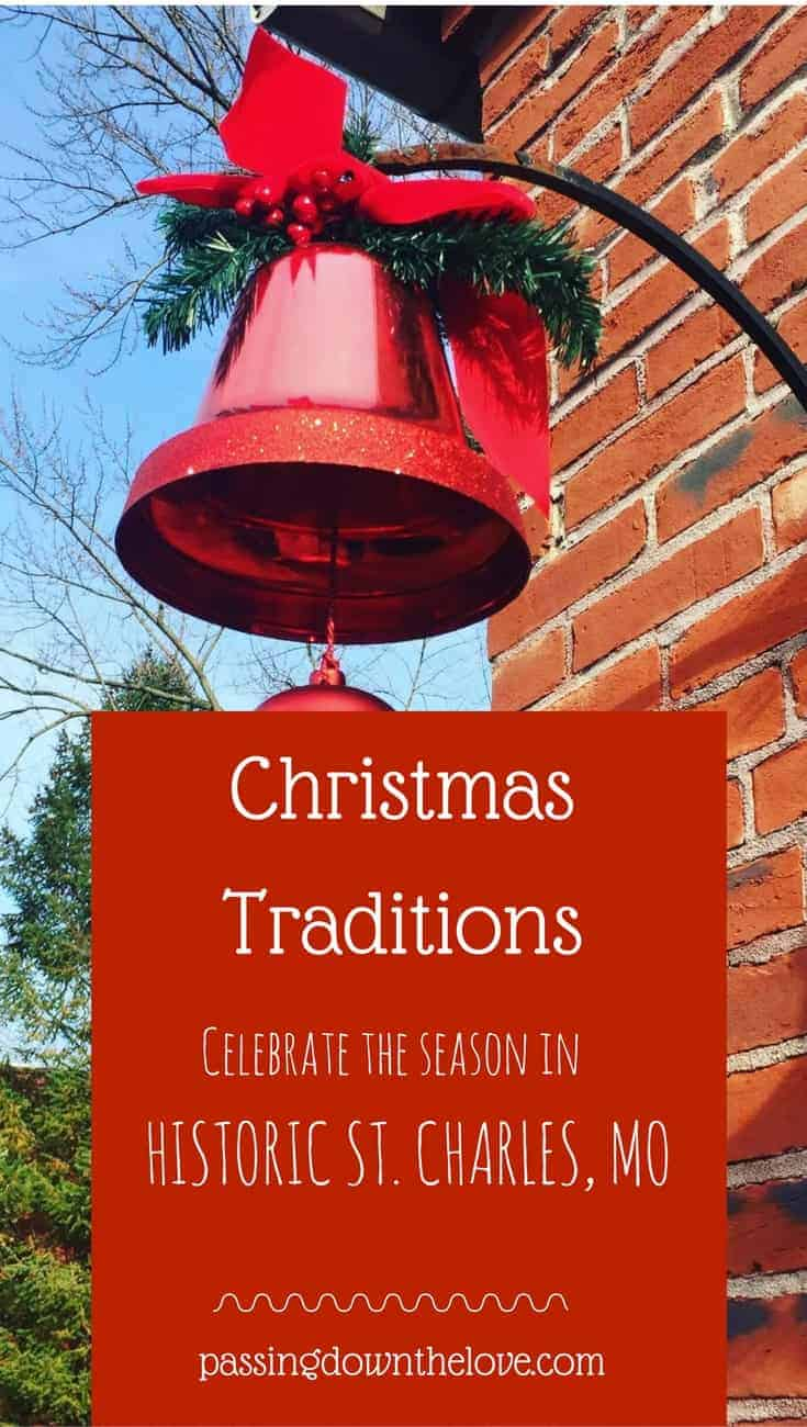 Celebrate the season in style.  Christmas Traditions, Historic Main Street, St. Charles, Missouri.