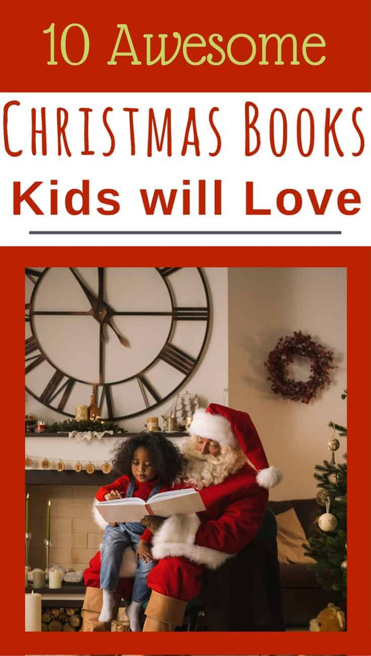 The Gift of Reading:  favorite kids Christmas books.  Here is a list of some our own favorites.  10 Awesome Christmas books kids will love.