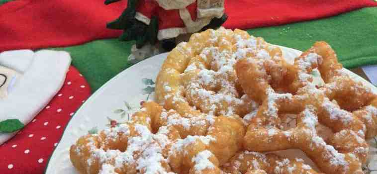 Funnel Cake Rosettes: Easy and Delicious Christmas Treats
