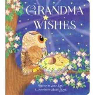 Book Grandma Wishes Gift for the new Grandma