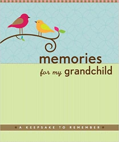 Gift ideas for the new Grandma: Book Memories for my Granchild