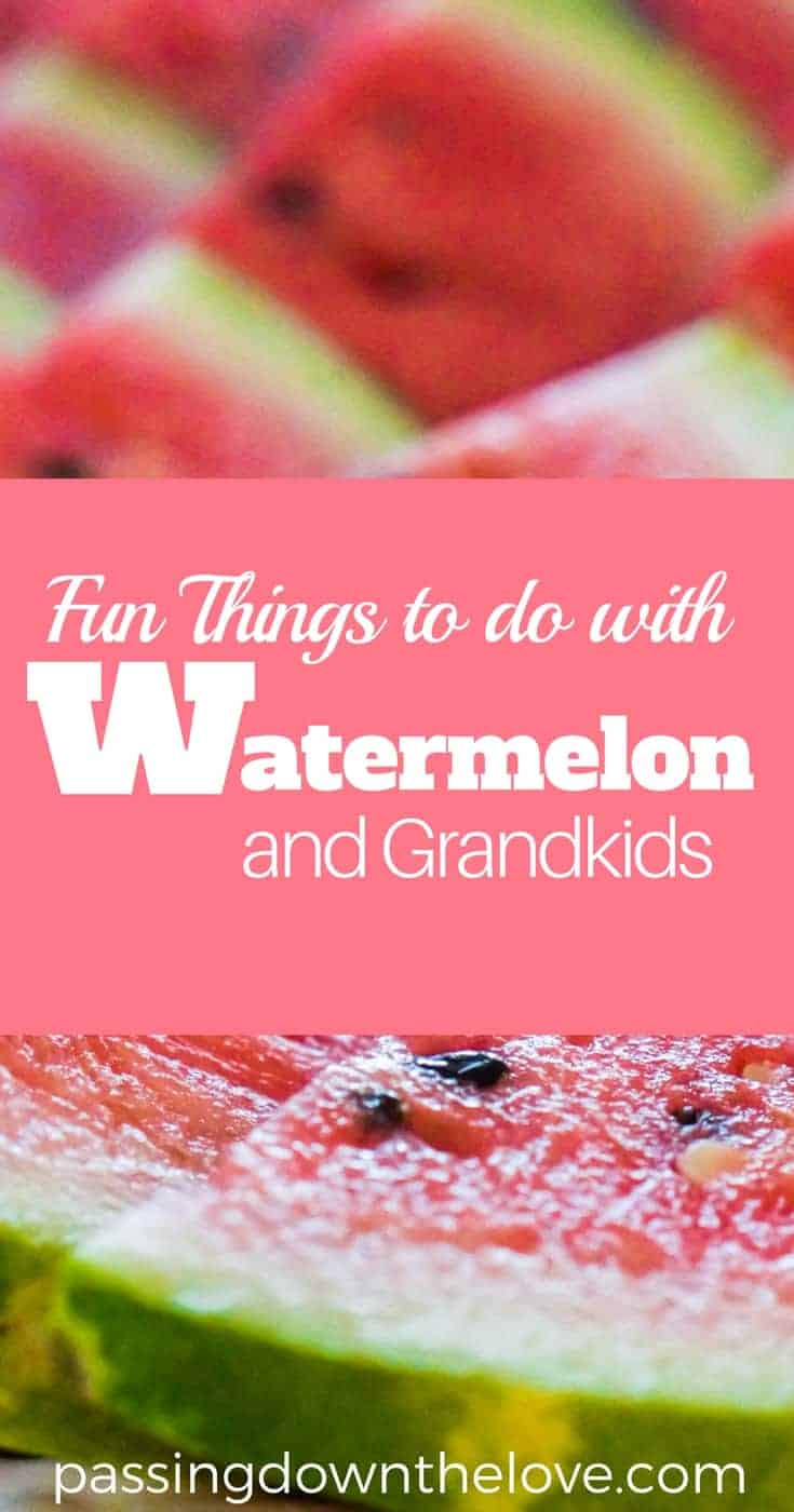 Remember the sweet, sticky fun you had as a kid? Watermelon games, watermelon crafts, drinks, and more. Invite your Grandkids for a