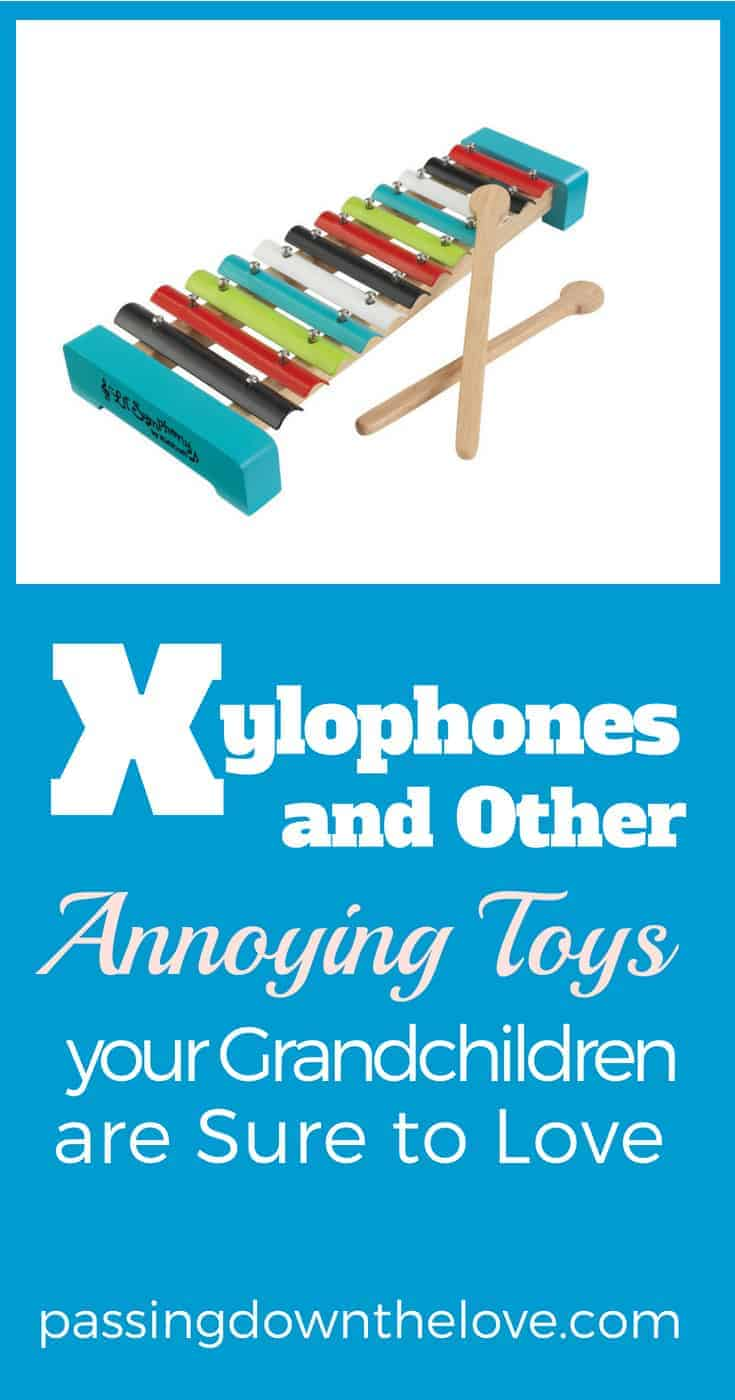 Annoying toys Grandkids will love. If you want to please your Grands while innocently annoying their parents, here are some suggestions.