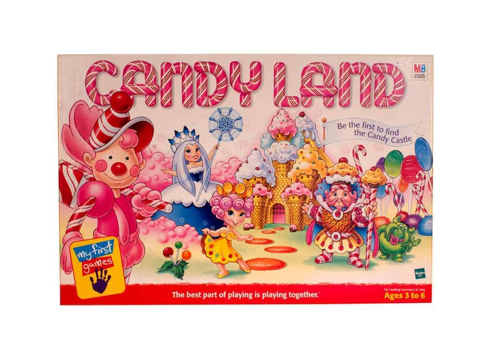 Play board games with grandkids