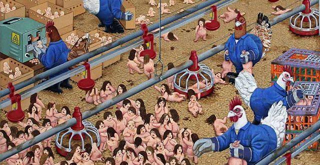Et si les animaux consommaient de la viande humaine de manière industrielle ?