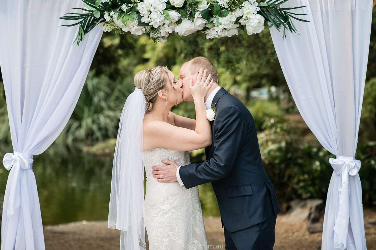 the ceremony kiss