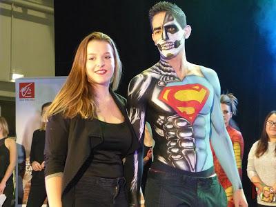 HeroFestivalSaison3 défilé body painting