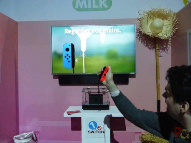 Essai Switch - Milk