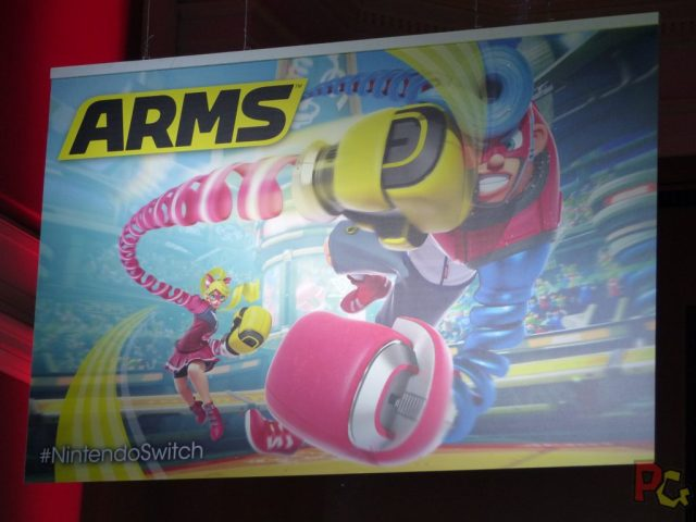 Essai Switch - Arms