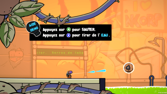 Splasher démo