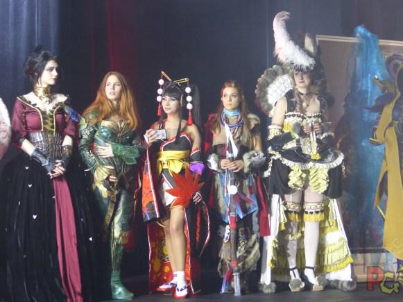 MAGIC 2017 - Quelques participants au concours de cosplay MICM