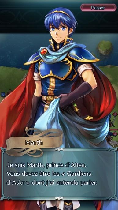 Fire Emblem Heroes Marth 2