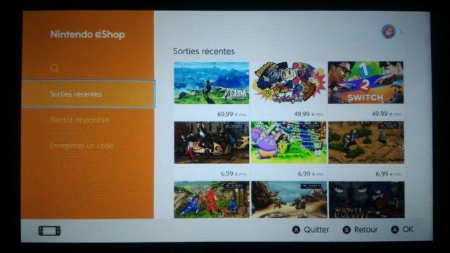 Nintendo Switch - eShop