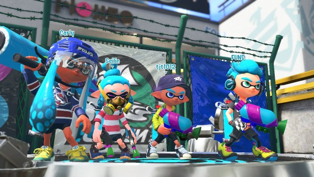 Splatoon 2 Global Testfire - Joueurs