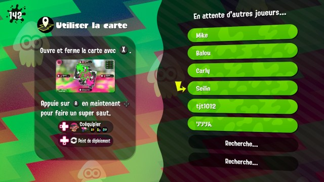 Splatoon 2 Global Testfire - attente joueurs