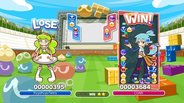 Switch - Démo Puyo Puyo Tetris