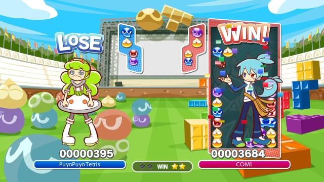 Switch - Démo Puyo Puyo Tetris