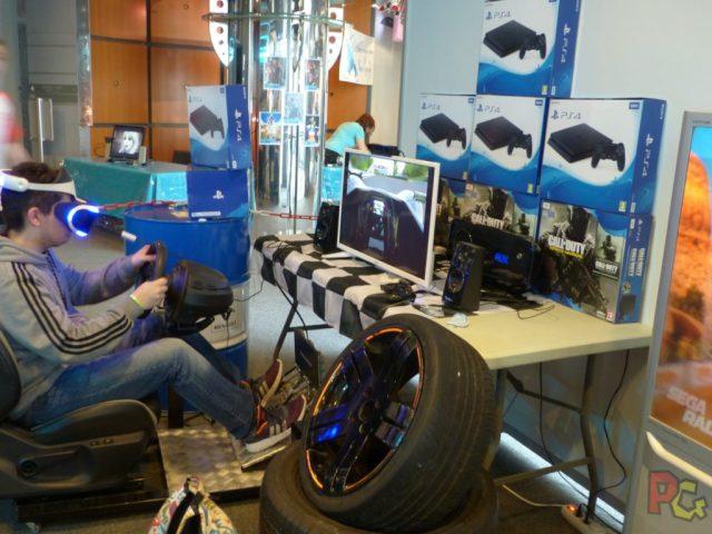 MangAzur 2017 - Formule 1 en PlayStation VR