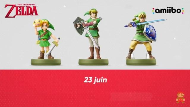 Nintendo Direct - Amiibos Zelda