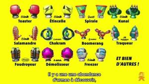 Nintendo Direct - Armes Arms