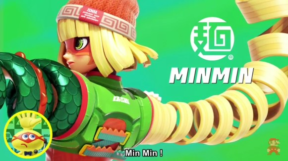 Nintendo Direct - Min Min Arms