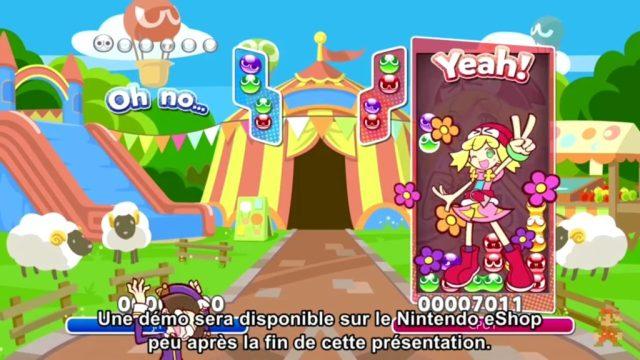 Nintendo Direct - Puyo Puyo Tetris