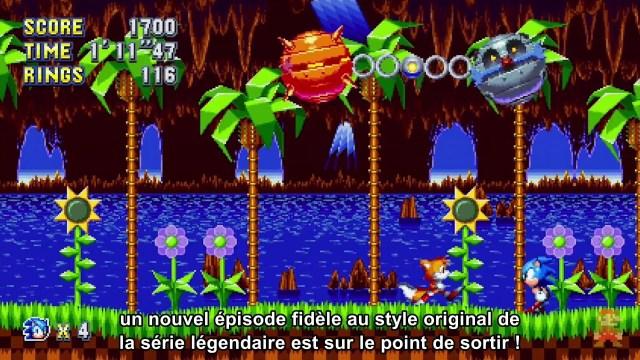 Nintendo Direct - Sonic Mania