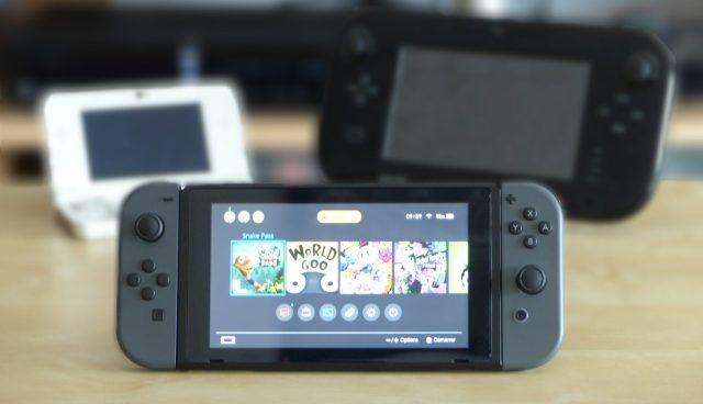Bannière 1 mois de la Switch