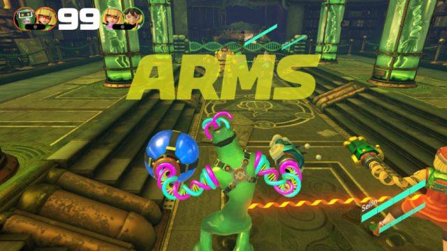 ARMS - combat à 4