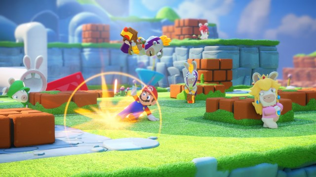 Mario + Lapins crétins 2