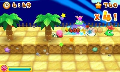 Kirby's Blwout Bast - niveau plage