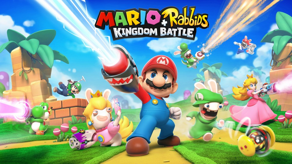 Mario + The Lapins Crétins - titre