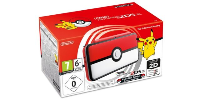 New 2DS XL Pokeball