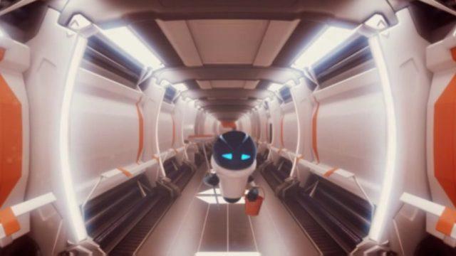 Robonauts cinématique