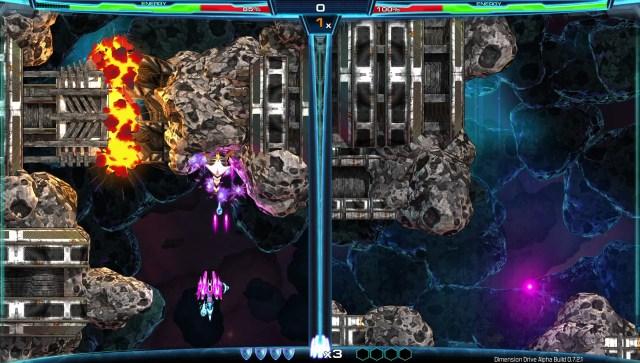 dimension drive screen