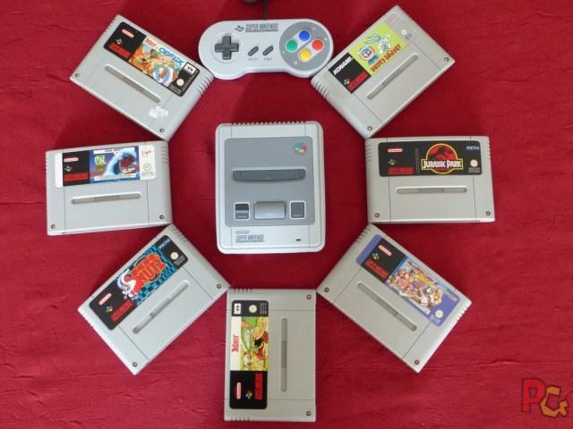 Mini SNES jeux