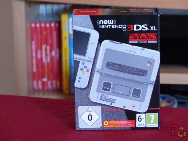 new 3DS XL SNES boîte