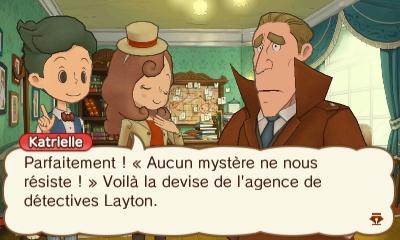 Katrielle Layton - détective